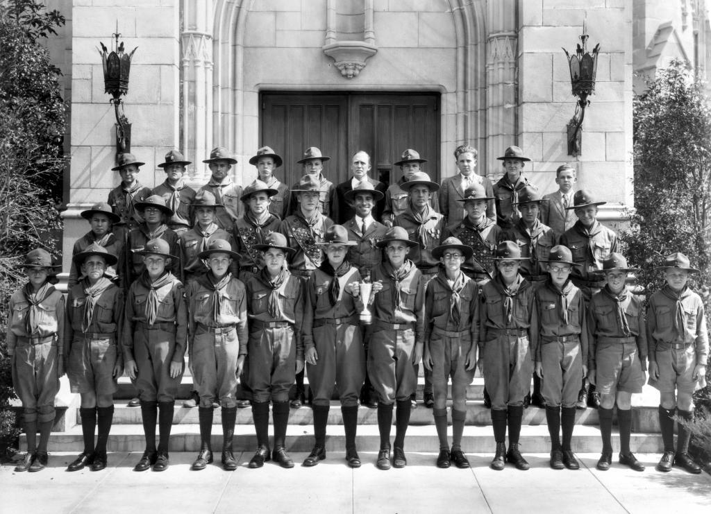 Troop 4 from the early 1930's.