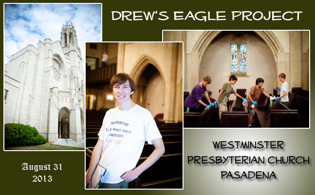 Drew's Eagle Project Completed