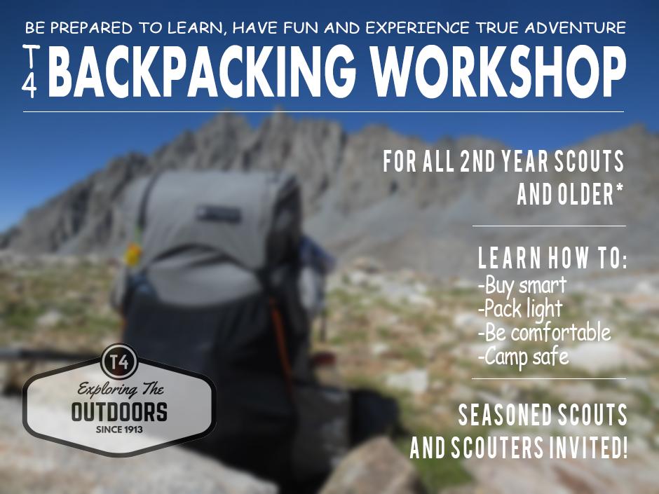 T4BackpackWorshop